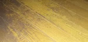 ワックスの剥離を怠ると恐ろしいことになると実感したUV施工例 | UVコーティング施工職人チーム「オンズレイ」のブログ