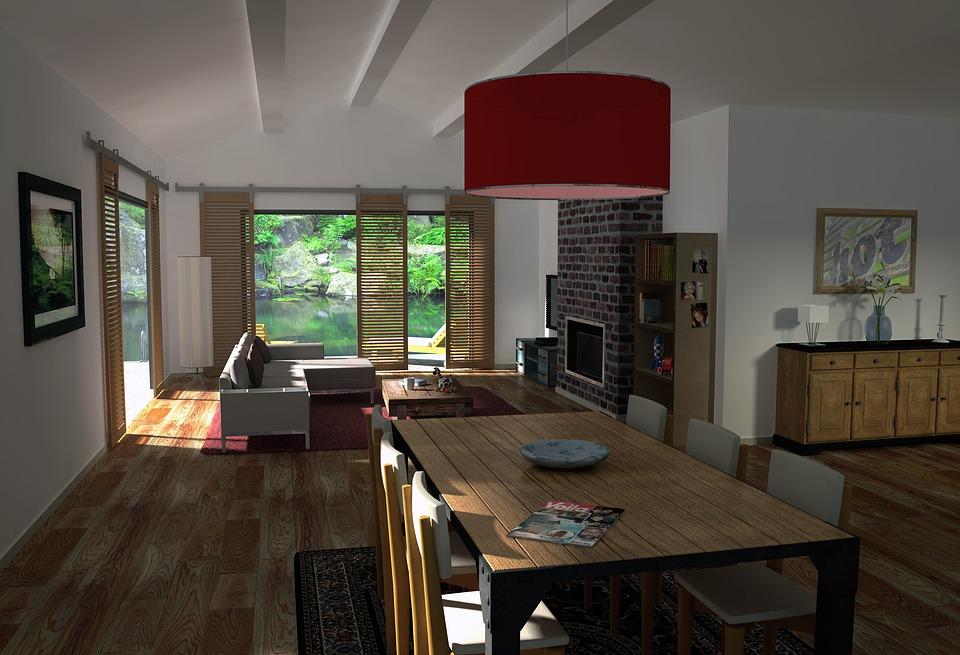良い環境の家