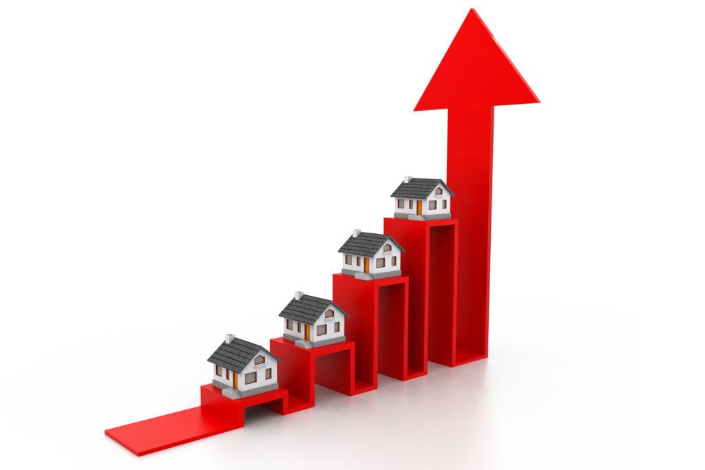 家とグラフのイメージ