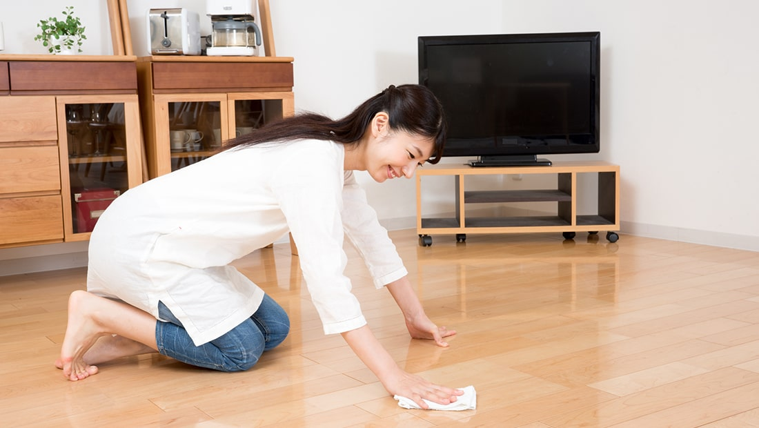 フローリングの傷は補修できる?補修方法と傷の予防法(フロアコーティング)